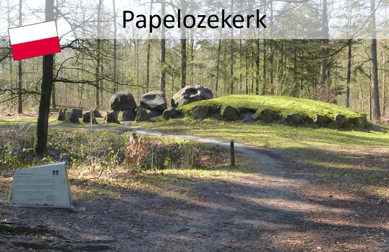 Pieterpad; Papeloose kerk