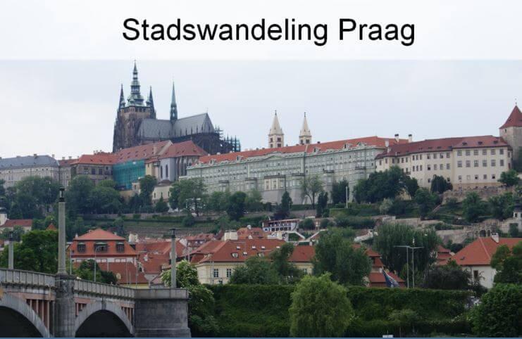 Stadswandeling;  Praag