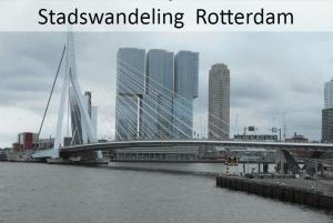 Stadswandeling; Rotterdam