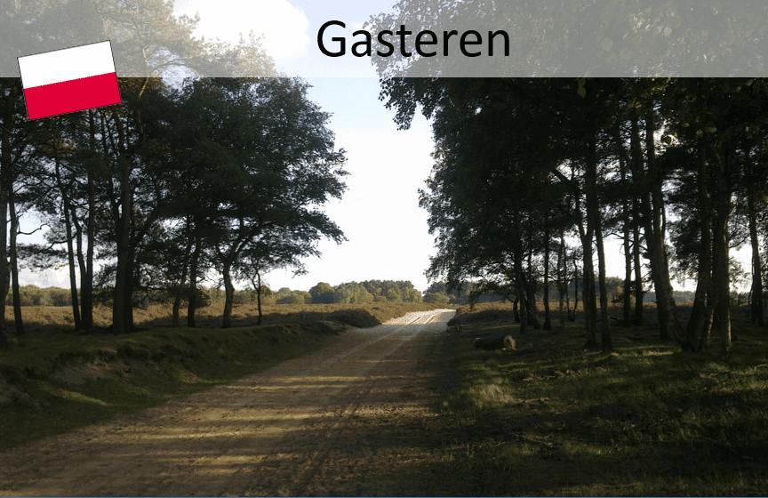Pieterpad; Gasteren