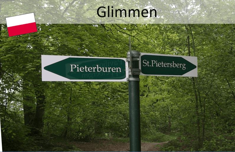 Pieterpad; Glimmen