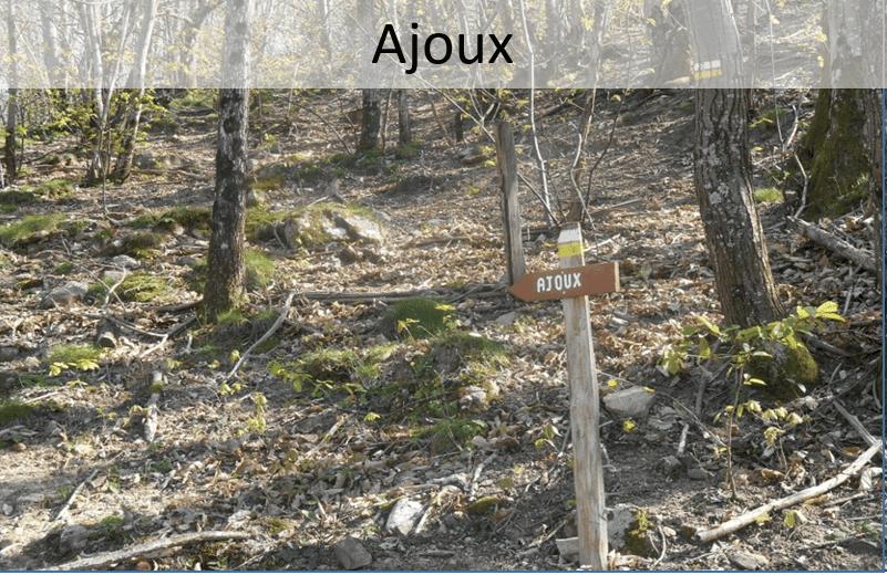 Wandelen rond Ajoux